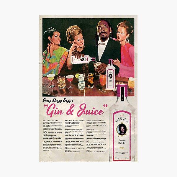 Gin & Juice Photographic Print