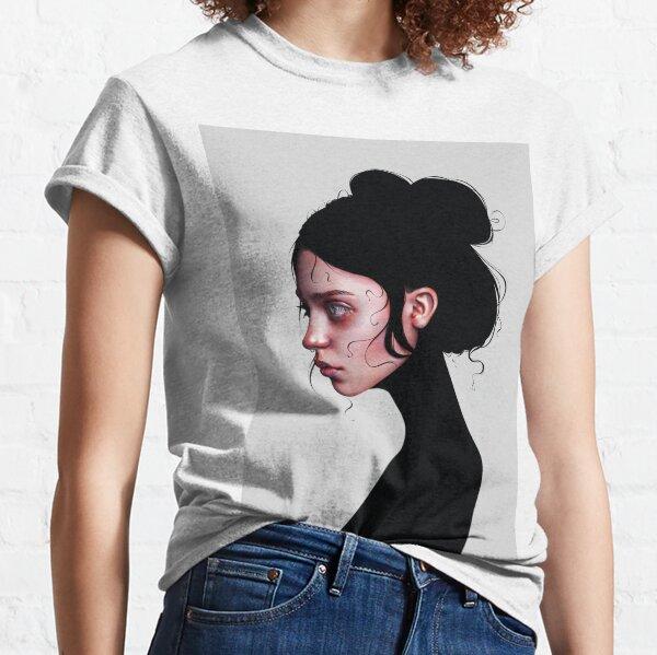 The Staring Girl Classic T-Shirt