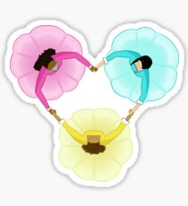 Schuyler Sisters Heart Sticker