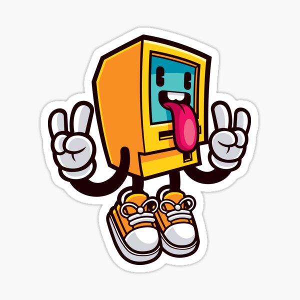 Computer Rock Sticker