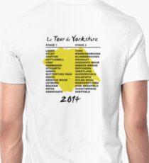 Le Tour de Yorkshire 2014 Back T-Shirt