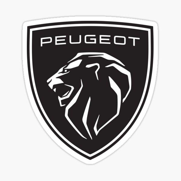 Peugeot 2021 - Nouveau logo  Sticker