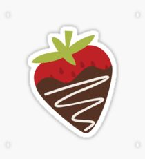 Chocolate Covered Strawberries Sticker