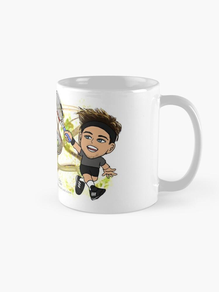 Alternate view of Dominic Thiem Mug
