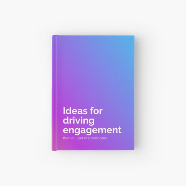 Notebook for Product Managers Hardcover Journal