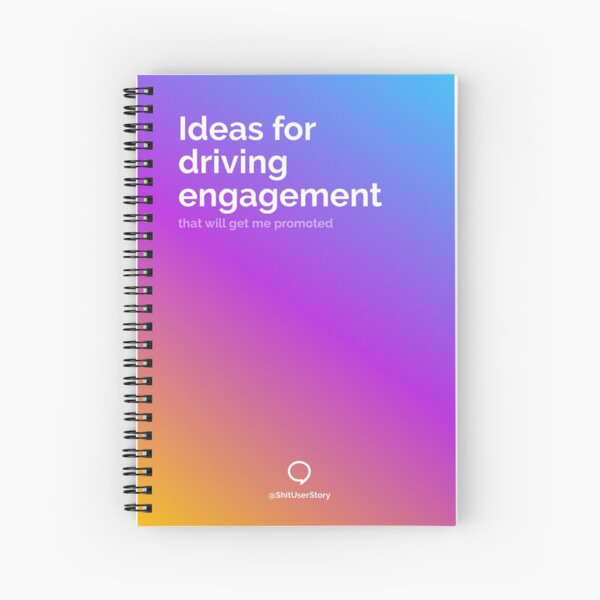 Spiral notebook for Product Managers Spiral Notebook