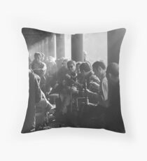 Sunday in a park in Beijing Throw Pillow
