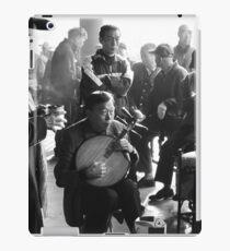 Guitar man iPad Case/Skin