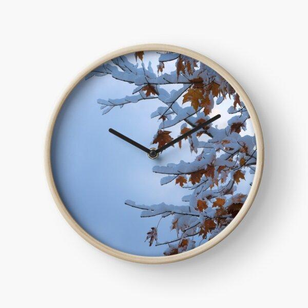 Early Winter Clock