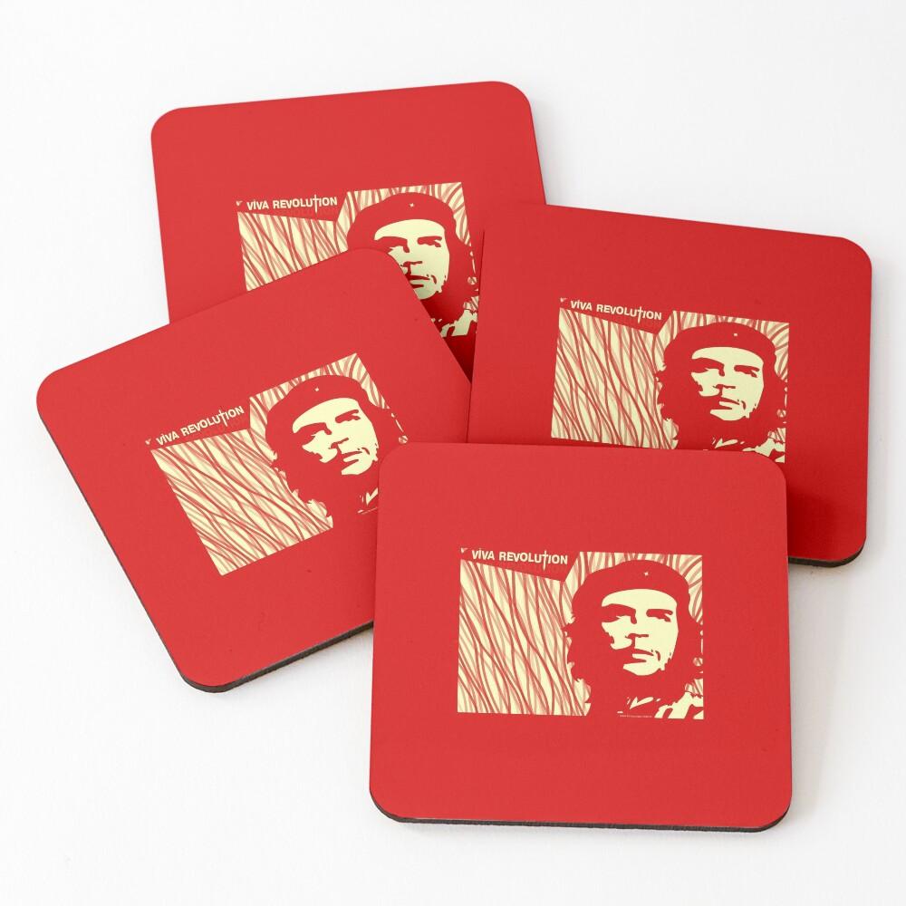 CHE GUEVARA - VIVA REVOLUTION Coasters (Set of 4)