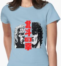 Kenshiro and Raoh Womens Fitted T-Shirt