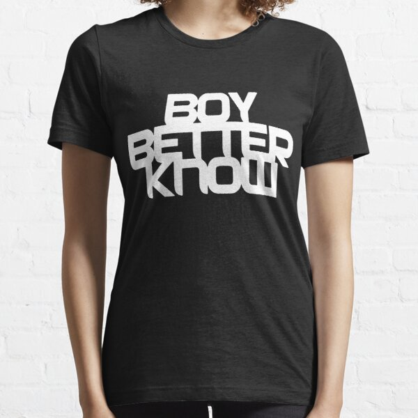 Boy Better Know - Chest Placement (white) Essential T-Shirt