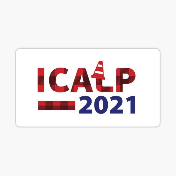 ICALP 2021 Cone Logo Sticker