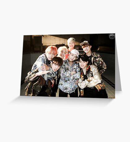 BTS/Bangtan Sonyeondan - Fire Group Photo Greeting Card