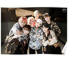 BTS/Bangtan Sonyeondan - Fire Group Photo Poster