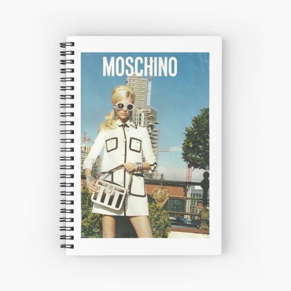 MOSCHINO COVER SHOOT VOGUE SPREAD 2013 Spiral Notebook