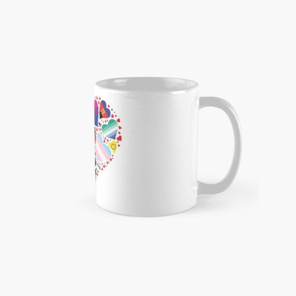 LGBT Pride Heart  Classic Mug