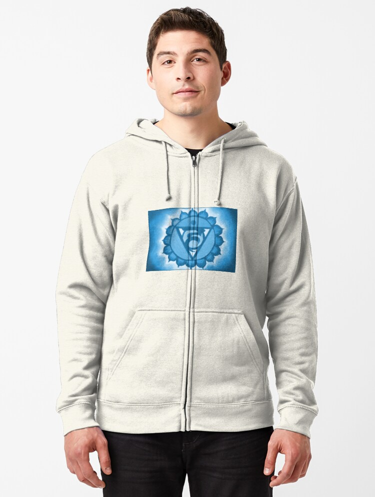 Colored Chakras Space Boys Graphic Sweatshirt Pullover Hoodie