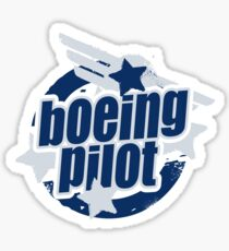 Boeing Pilot Sticker