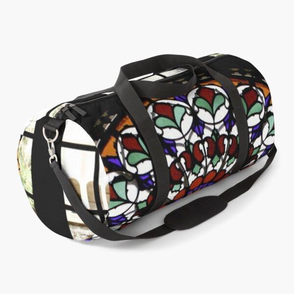 Persian Rainbow Stained Glass Window Photograph Duffle Bag