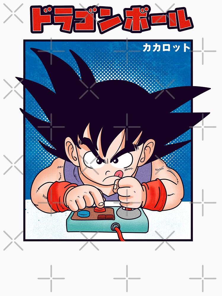 Dragon Ball Goku by Akolytus