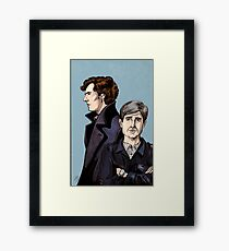 Consulting Detectives Framed Print