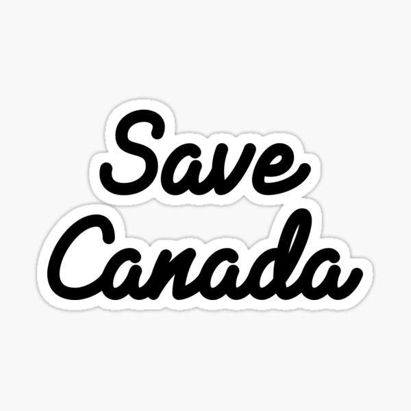 Save Canada Sticker