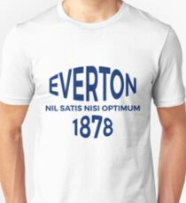 Everton Retro Unisex T-Shirt