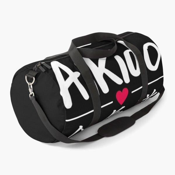Aikido Kanji Heart Martial Art Duffle Bag