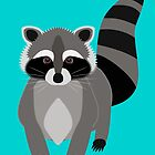 Raccoon Rascal by AntiqueImages