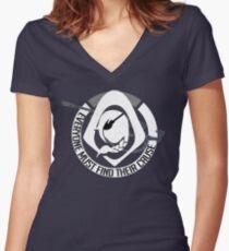 Anamuca Women's Fitted V-Neck T-Shirt