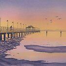 Shorncliffe Pier by Werner Langer