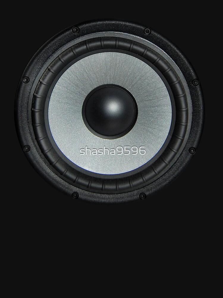 Black Speaker by shasha9596
