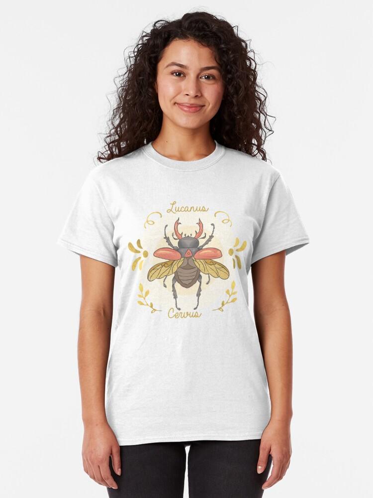 Alternate view of Lucanus cervus Classic T-Shirt