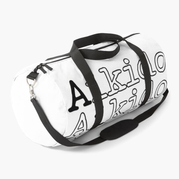 Aikido Self Defense Martial Art Duffle Bag