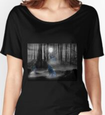 Midnight Howl Women's Relaxed Fit T-Shirt