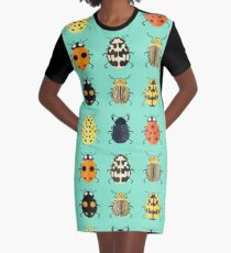 Insects. Graphic T-Shirt Dress