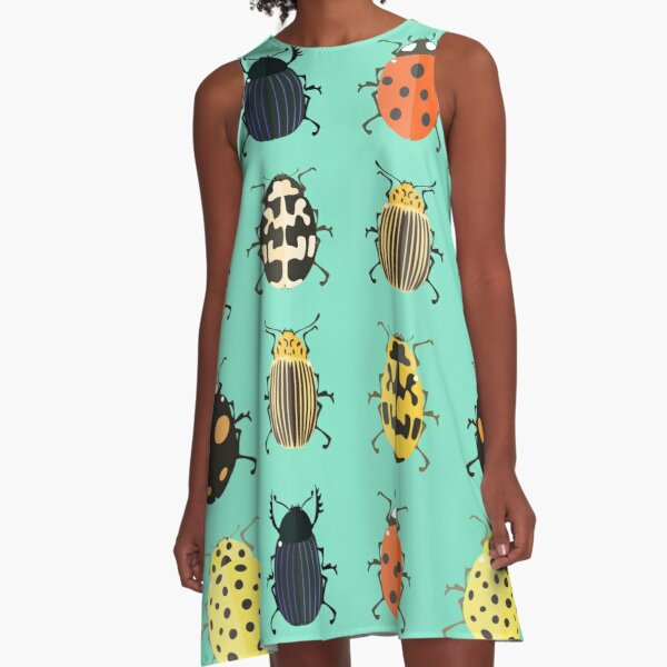 Insects. A-Line Dress