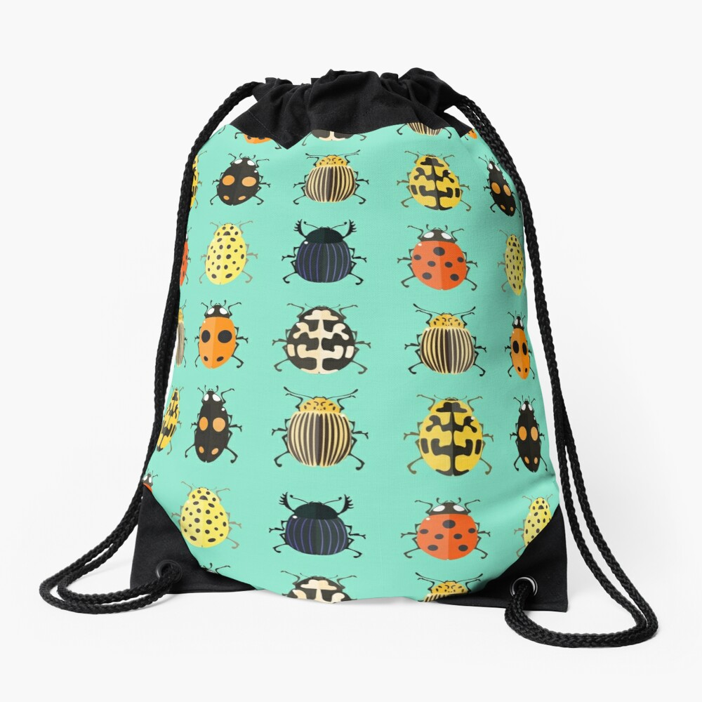 Insects. Drawstring Bag