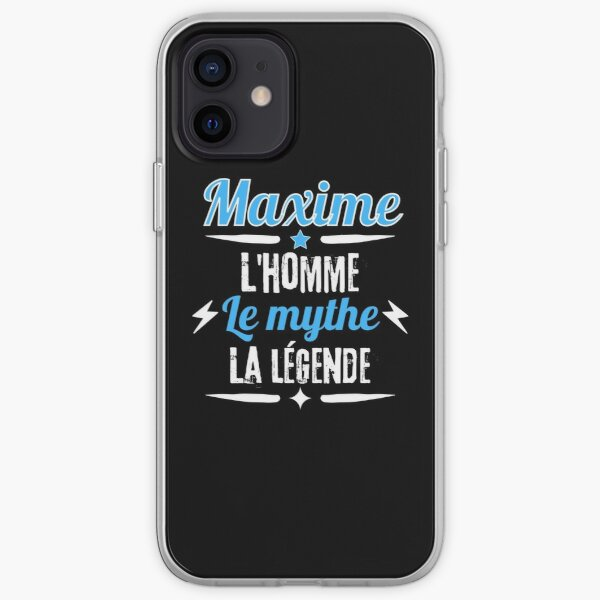 Maxime the man the myth the legend gift iPhone Soft Case