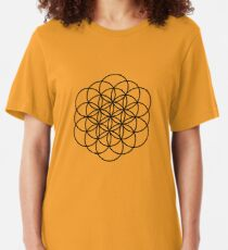 Flower of Life Slim Fit T-Shirt