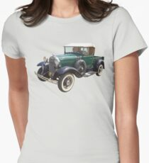 1930 Ford Model A Antique Pickup Truck Womens Fitted T-Shirt