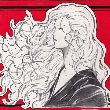 Hair in the wind by Robykat