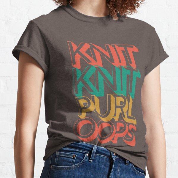 Knit Knit Purl Classic T-Shirt