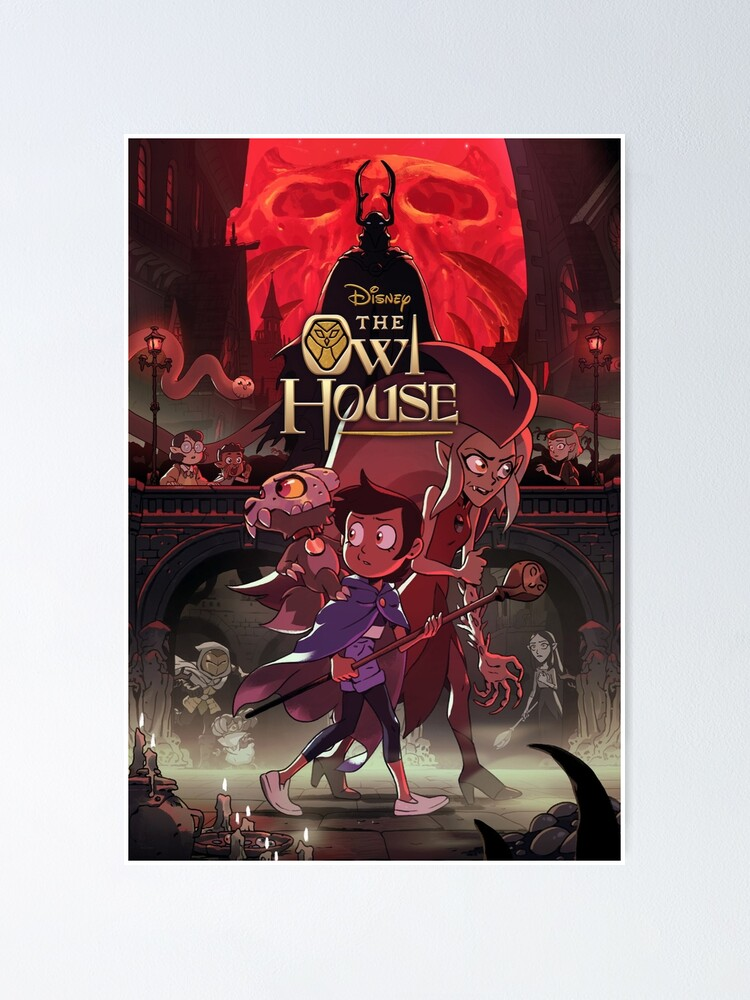 Alternate view of The Owl House: Season 2 Poster Poster