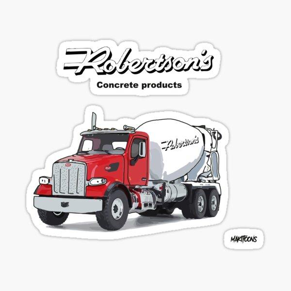 Robertson's concrete mixer Sticker