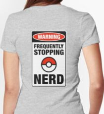 Pokemon Go Nerd Frequently Stopping T-Shirt