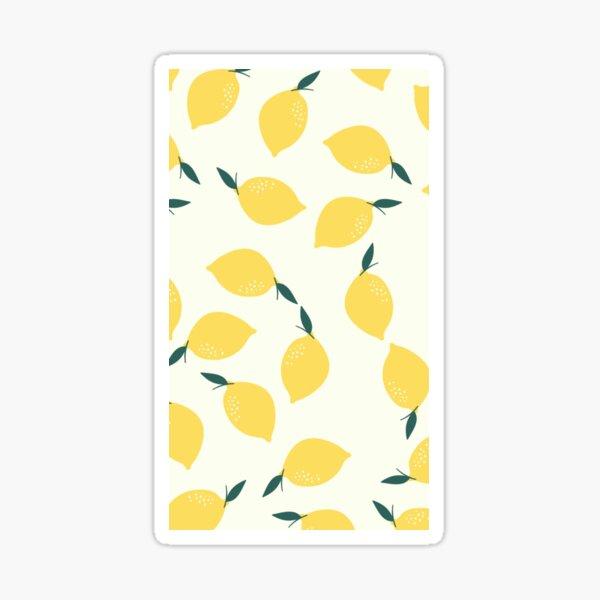 Pluie de citrons  Sticker