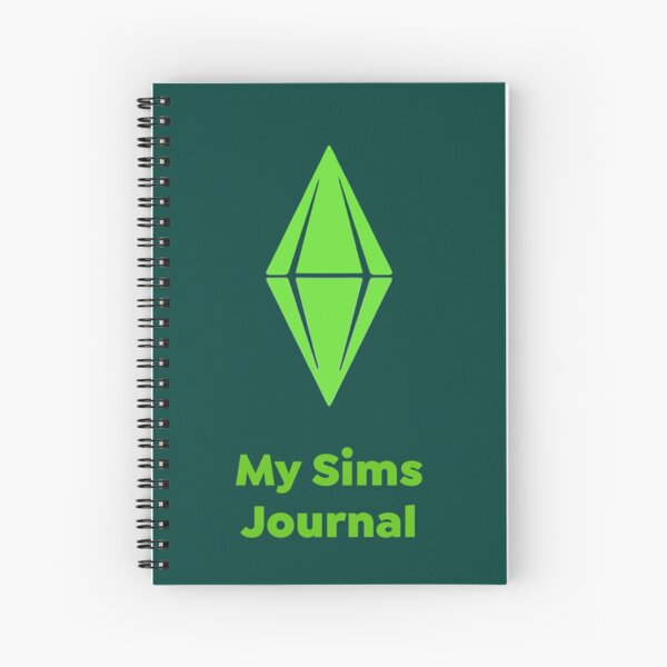 The Sims Fan Merch Spiral Notebook