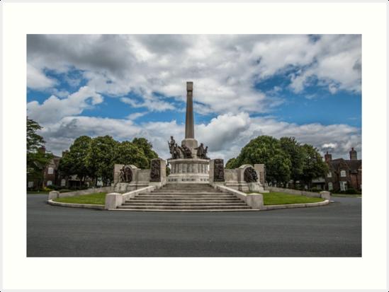 Port Sunlight War Memorial  by Chris V Evans